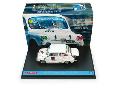 "Fiat Abarth 850TC ""1°  Historic Marathon, Nurburgring"" nº 89 Borella-Pieraccini (2009) Brumm 1/43"