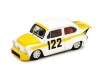 "Fiat Abarth 850TC Corsa ""Coppa Collina"" nº 122 Bresci (1969) Brumm 1/43"