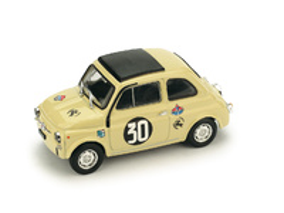 "Fiat Giannini 500 TV ""Coppa Carri, Monza"" nº 30 M. Zanetti (1966) Brumm 1/43"