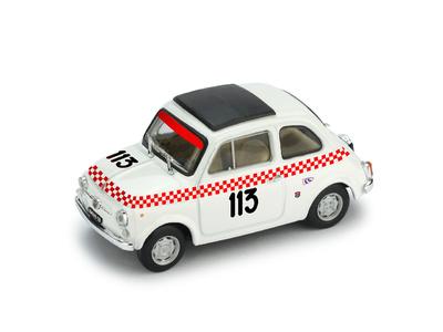 "Fiat Giannini 500TV ""5° Trofeo Val Camonica"" nº 113 Beppe Dosi (1969) Brumm 1/43"
