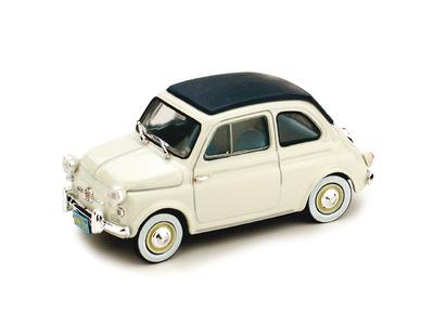 """Fiat Nuova 500 """"Versión America"""" Techo Cerrado (1958) Brumm 1/43"""