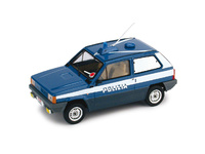 "Fiat Panda 45 ""Polizia Stradale - Grupo Canino"" (1980) Brumm 1/43"