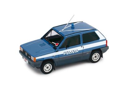 "Fiat Panda 4x4 ""Polizia Stradale"" (1983) Brumm 1/43"
