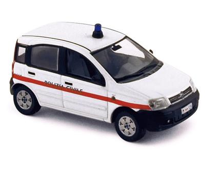 """Fiat Panda """"Policia de San Marino"""" Norev 1/43"""