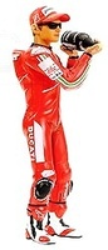 Figura Casey Stoner Podium (2007) Minichamps 1/12
