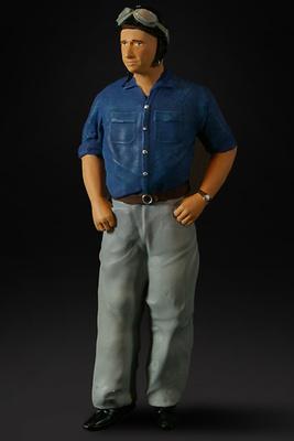 Figura Juan Manuel Fangio Figurenmanufaktur 1:18