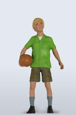 Figura Niño de la familia Figurenmanufaktur 1:18