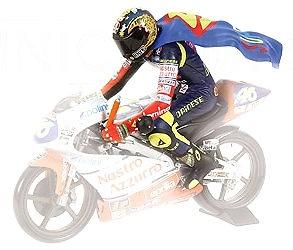 Figura Valentino Rossi sobre Moto3 (1997) Minichamps 1/12
