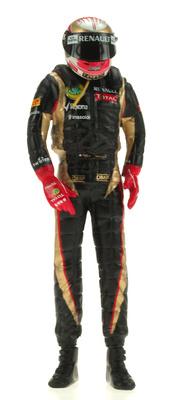 "Figura de Romain Grosjean ""GP. Montecarlo"" (2012) 1:18"