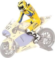 Figura de Valentino Rossi Sobre Moto GP (2006) Minichamps 1/12
