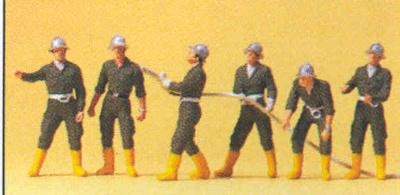 Figuras Bomberos Austriacos Preiser 1/87