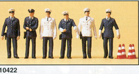 Figuras Policia Alemana BRD Preiser 1/87