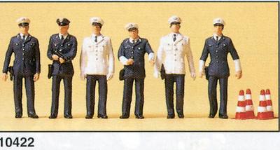 Figuras Policia Alemana BRD Preiser 1/87