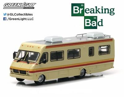"Fleetwod Bounder RV ""Breaking Bad"" (1986) Greenlight 1/64"