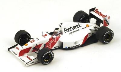 """Footwork FA12 """"GP. Canadá"""" 1991 nº 10 Stefan Johansson (1991) Spark S3982 1:43"""