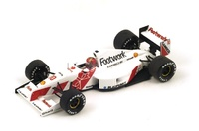 "Footwork FA12 ""GP. San Marino"" 1991 nº 10 Alex Caffi (1991) Spark 1:43"