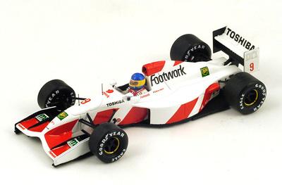 "Footwork FA13 ""GP. Mónaco"" nº 9 Michele Alboreto (1992) Spark S3983 1:43"