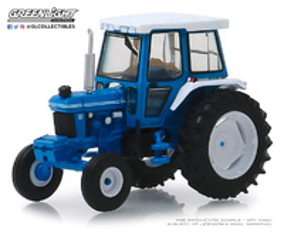 Ford 5610 Tractor con Cabina cerrada (1984) Greenlight 1/64