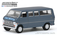 "Ford Club Wagon ""Global Airlines"" (1969) Greenlight 1/64"