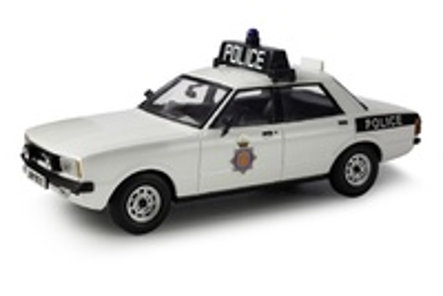 "Ford Cortina 2.0 S  Serie IV ""Lancashire Police"" (1976) Corgi 1/43"