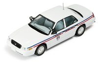 Ford Crown Policia Municipal Montpellier Ixo 1/43