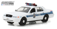 Ford Crown Victoria Interceptor Baltimore Police (2008) Greenlight 1/64