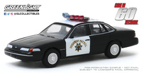 "Ford Crown Victoria Interceptor Policia de California ""60 Segundos"" (1992) Greenlight 1/64"