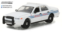 Ford Crown Victoria Interceptor de la Policía de Detroit Michigan (2008) Greenlight 1/64