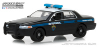 Ford Crown Victoria Police Interceptor Montana Highway Patrol (2001) Greenlight 1/64