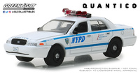 "Ford Crown Victoria Policia NY ""Quantico"" (2003) Greenlight 1/64"