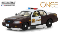 "Ford Crown Victoria Policia ""Once Upon A Time"" (2005) Greenlight 1/43"
