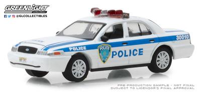 Ford Crown Victoria Policia Portuaria de Nueva York y Nueva Yersey (2003) Greenlight 1/64