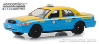 "Ford Crown Victoria Taxi ""Los Angeles, California"" (2011) Greenlight 1/64"