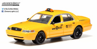 Ford Crown Victoria Taxi Nueva York (2011) Greenlight 1/64
