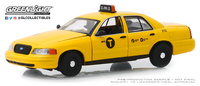 Ford Crown Victoria Taxi de Nueva York (2011) Greenlight 1/43