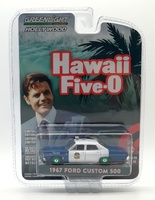 Ford Custom Honolulu Police Hawaii 5-0 (1967) Green Machine 1/64