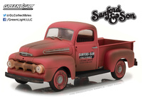 "Ford F-1 truck ""Sanford and Son"" (1972-TV) 1952 Greenlight 1/18"
