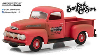 "Ford F-1 truck ""Sanford and Son"" (1972-TV) 1952 Greenlight 1/43"