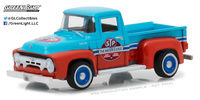 "Ford F-100 ""STP"" 65 aniversario (1954) Greenlight 1/64"