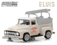 Ford F-100 Truck Crown Electric Co Elvis Presley (1954) Greenlight 1/64