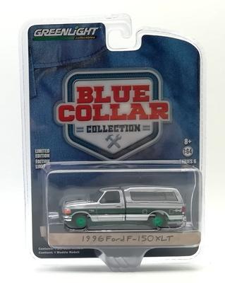 Ford F-150 XLT con caja cerrada (1996) Greenlight 1/64