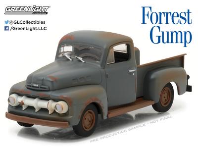 "Ford F1 ""Forrest Gump"" (1951) Greenlight 1/43"