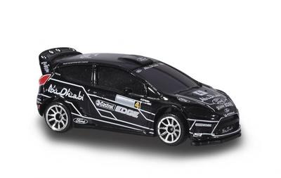 "Ford Fiesta RS WRC ""Abu Dhabi"" nº 4 J. Latvala y M. Anttila (2011) Majorette 1/58"