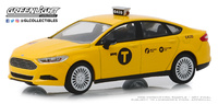 Ford Fusion Taxi de Nueva York (2013) Greenlight 1/43