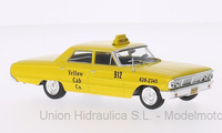 Ford Galaxie 500 Taxi de Nueva York (1967) White Box 1/43