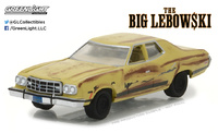 "Ford Gran Torino ""The Big Lebowski"" (1973) Greenlight 1/64"