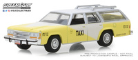 "Ford LTD Crown Victoria Taxi  ""Rosarito Beach Mexico"" (1988) Greenlight 1/64"