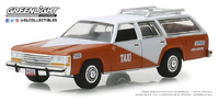 Ford LTD Crown Victoria Wagon Taxi Tijuana Centro (1988) Greenlight 1/64