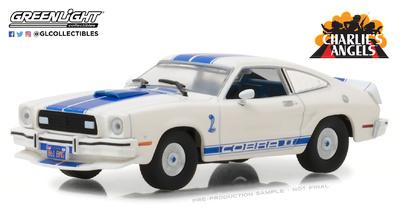 """Ford Mustang Cobra II """"Los ángeles de Charlie"""" (1976) Greenlight 1/43"""