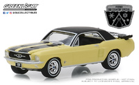 "Ford Mustang Coupe ""Ski Country Special""(1967) Greenlight 1/64"